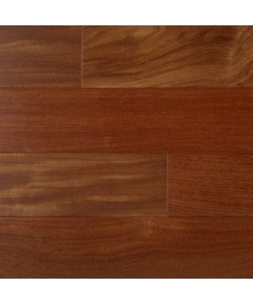 Smooth Exotic Santos Mahogany 12 X 5 Engineered Hardwood