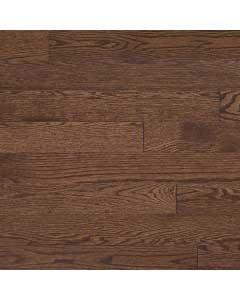 """Prestige Red Oak - Walnut 3/4"""" x 2 1/4"""" Solid Hardwood"""