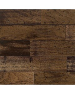 "American Vintage Lock&Fold Walnut - Chickory 3/8"" x 5"" Engineered Hardwood"