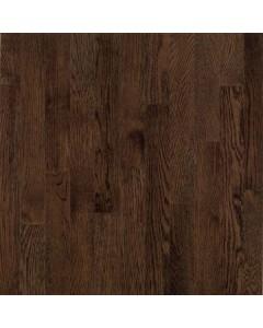 "Dundee Plank Red Oak - Mocha 3/4"" x 3 1/4"" Solid Hardwood"