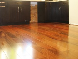 Prefinished Brazilian Cherry Wide Plank